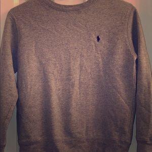 Boys Polo Sweatshirt